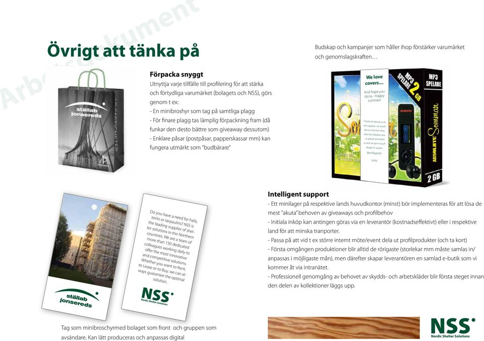 påsar (postpåsar, papperskassar mm) kan fungera utmärkt som budbärare We love covers And hope you do to - Happy summer!
