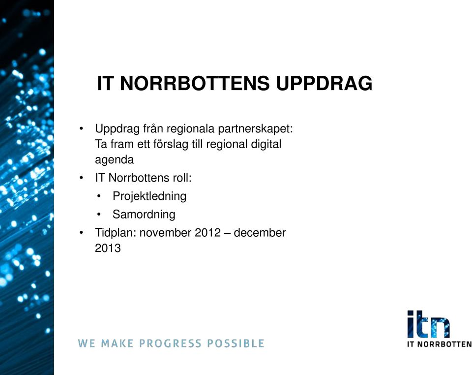 digital agenda IT Norrbottens roll: