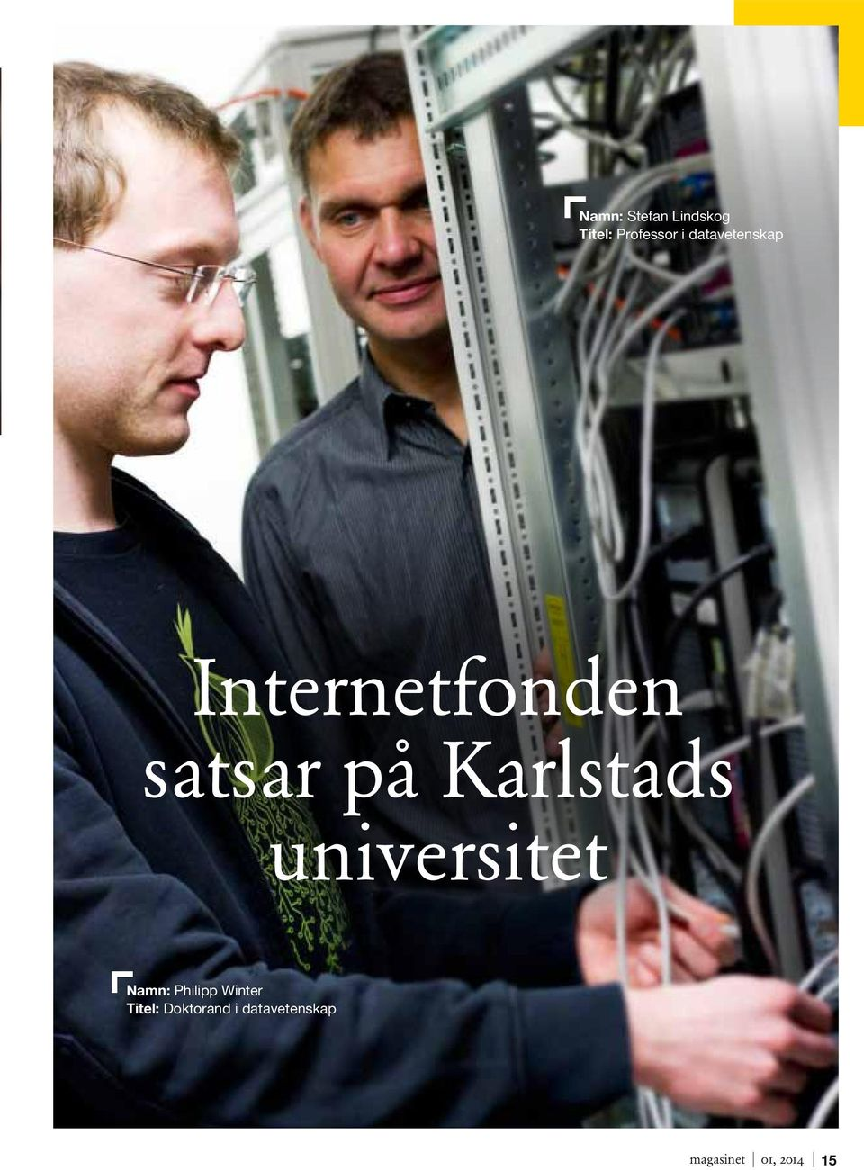 Karlstads universitet Namn: Philipp Winter