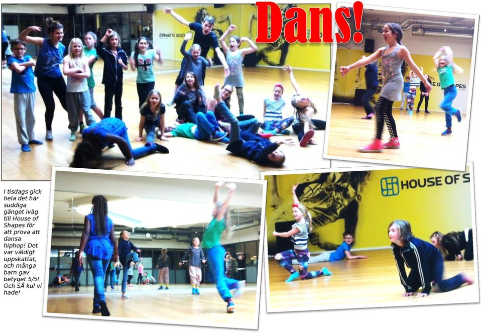 dansa hiphop!