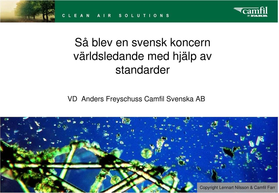 standarder VD Anders Freyschuss