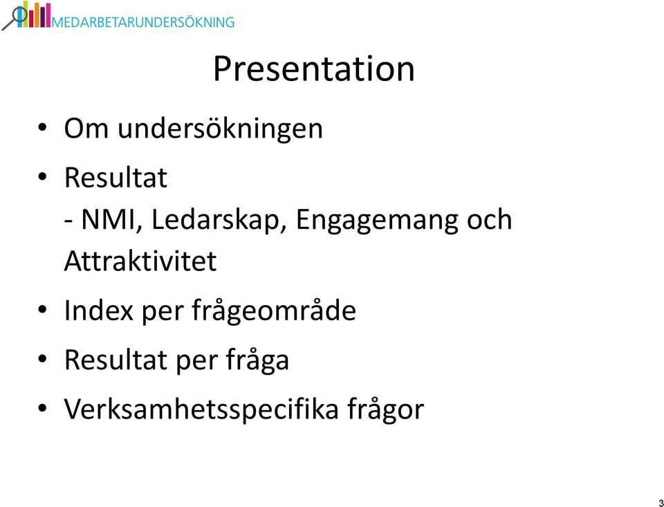 och Attraktivitet Index per
