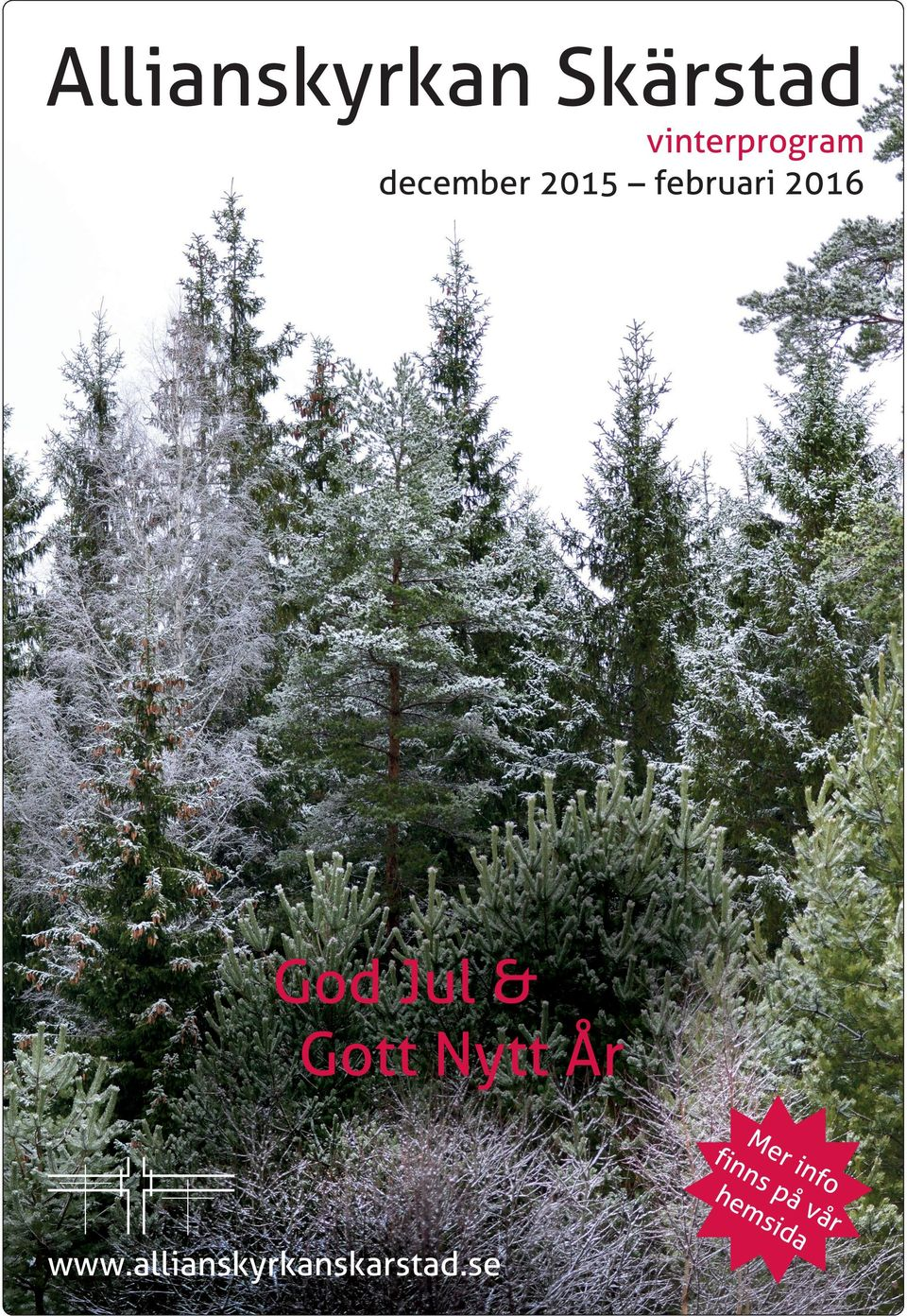 februari 2016 God Jul & Gott