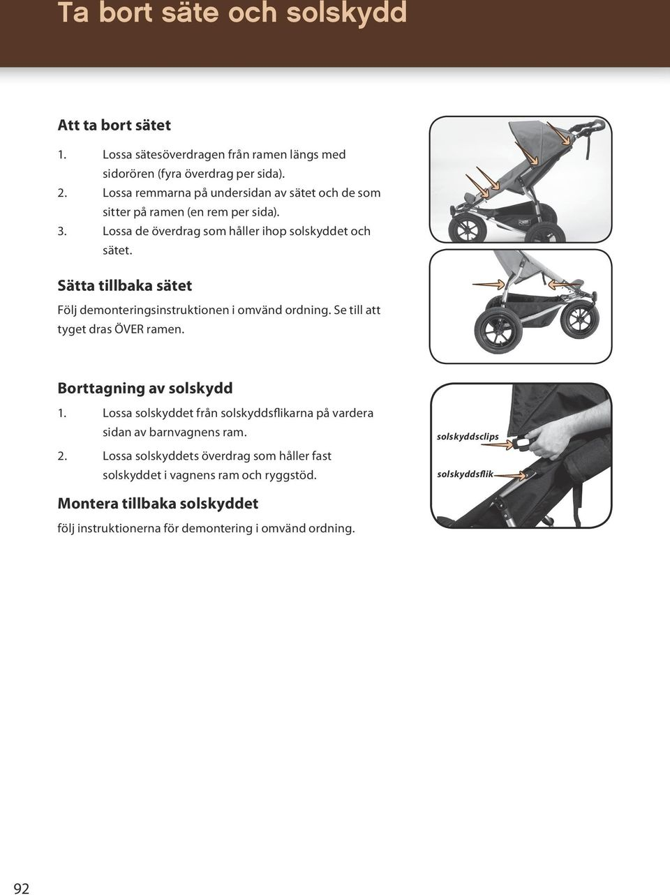 mountain buggy urban jungle instruction manual