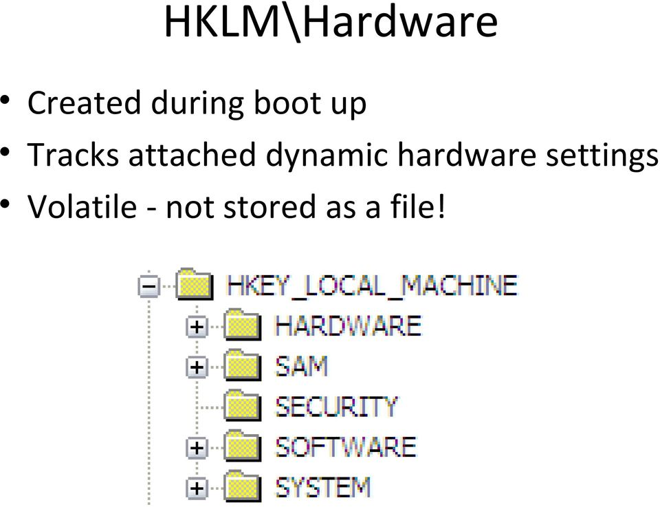 attached dynamic hardware