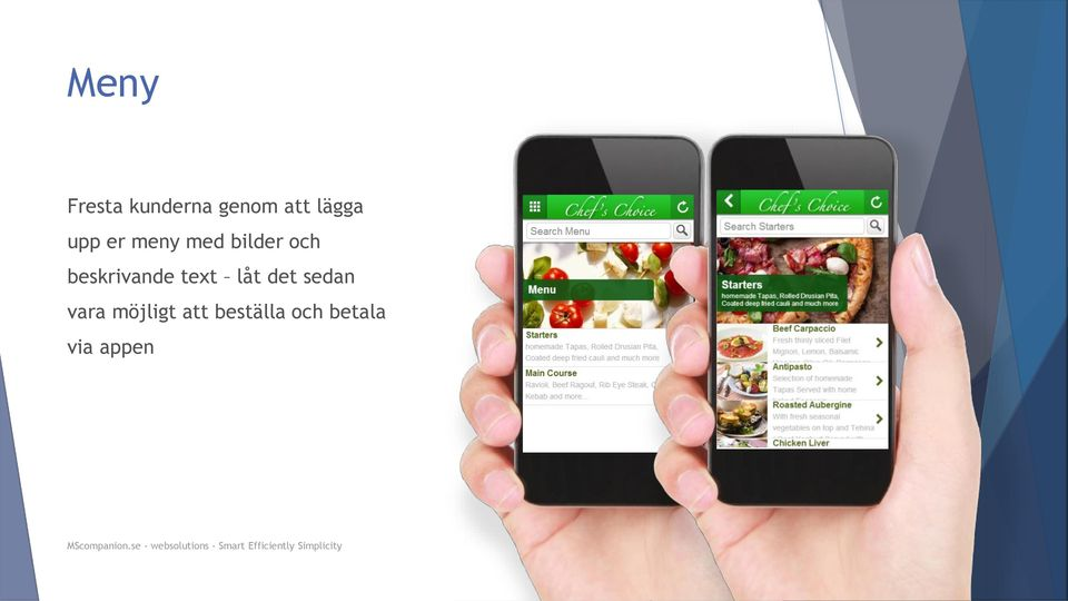 beskrivande text låt det sedan vara
