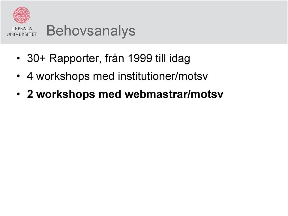 workshops med