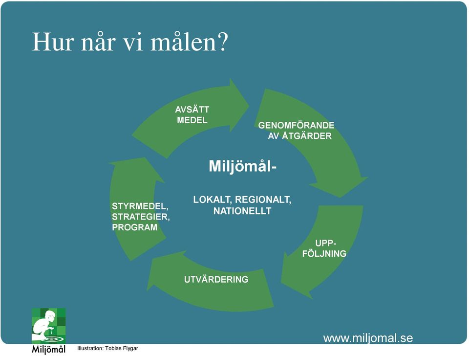 Miljömål- STYRMEDEL, STRATEGIER, PROGRAM