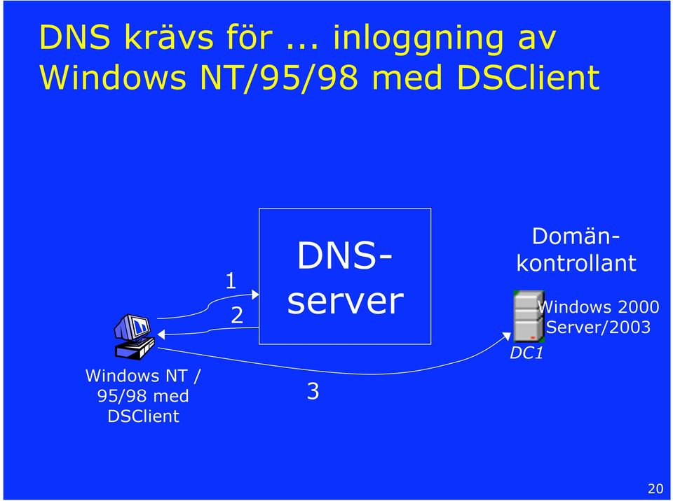 DSClient Windows NT / 95/98 med