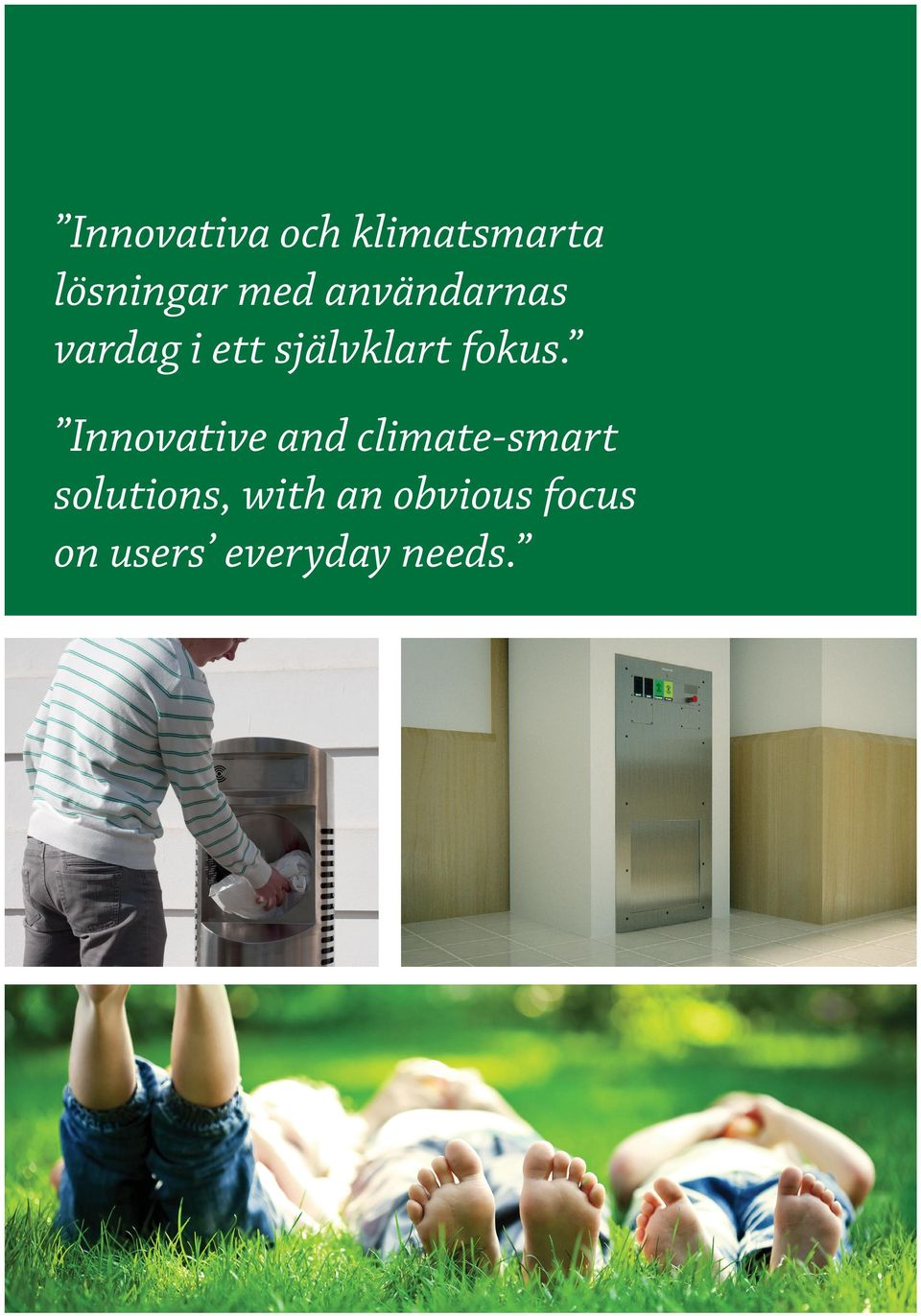 Innovative and climate-smart solutions,