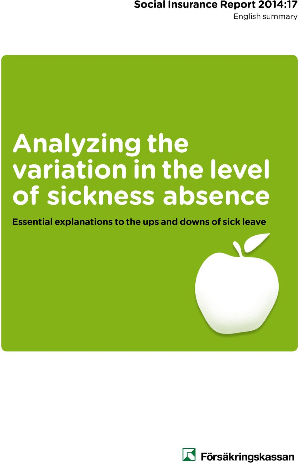 sickness absence Essential