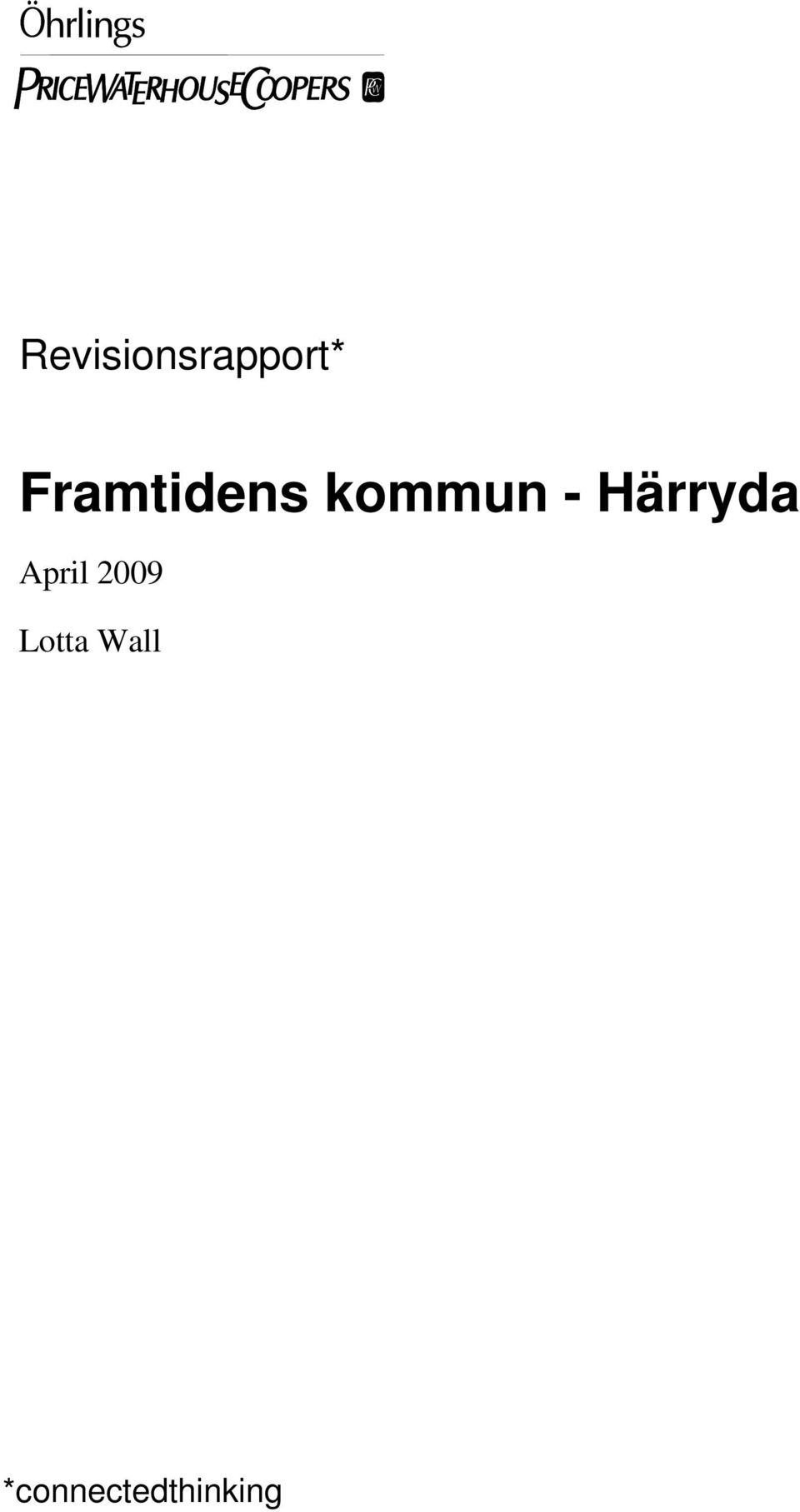 Härryda April 2009