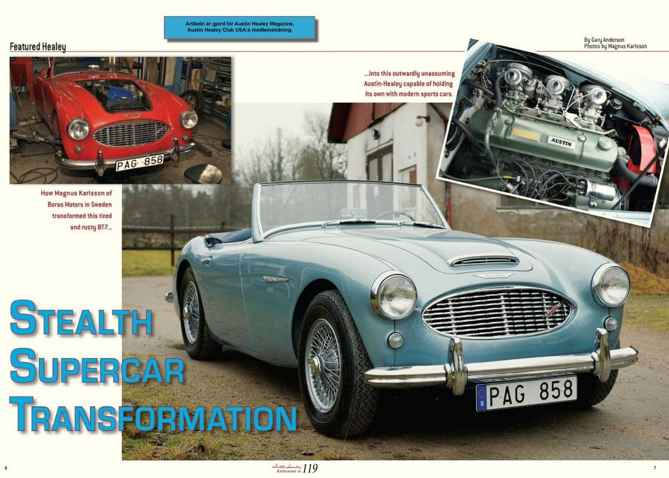 Austin Healey Club USA:s