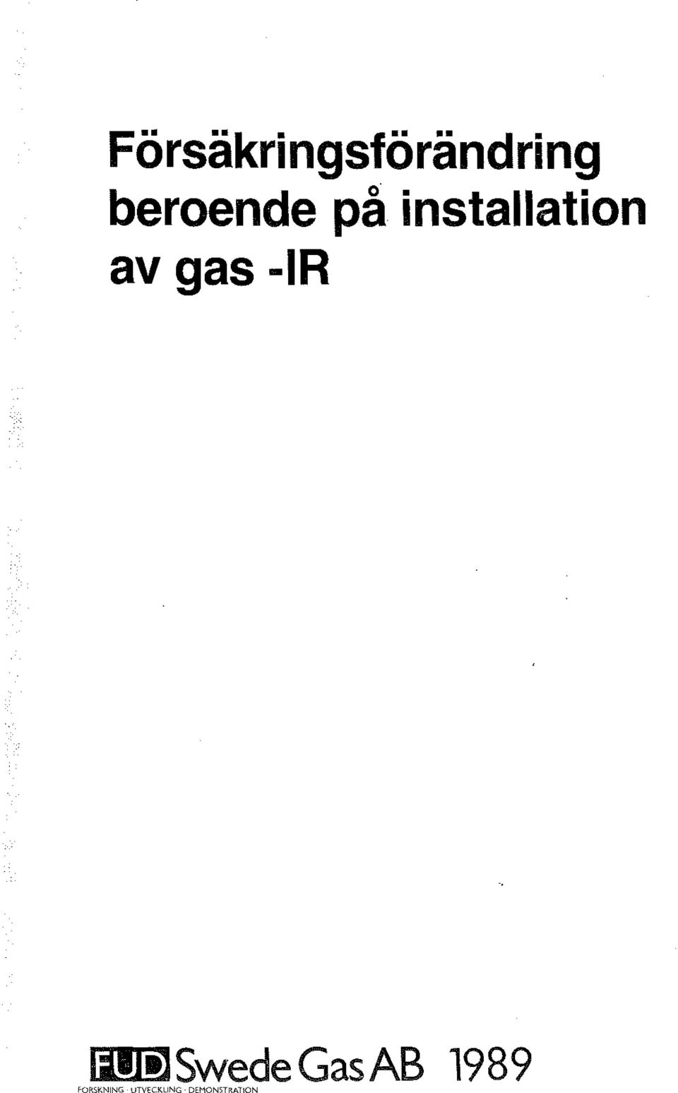 gas -IR lill )Swede Gas AB