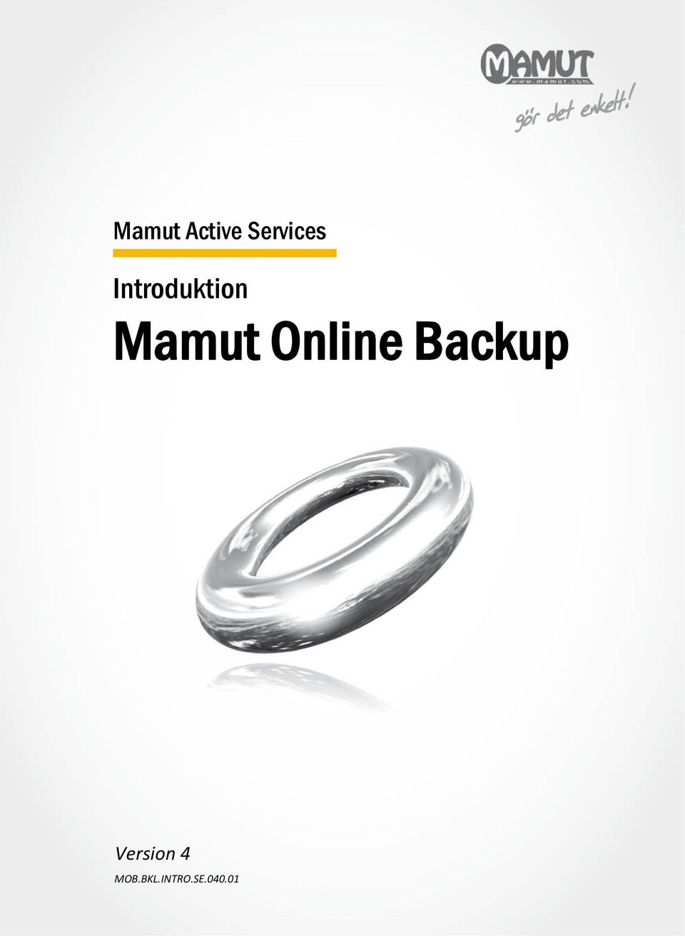 Online Backup Version