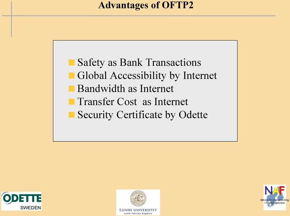 Internet Bandwidth as Internet Transfer