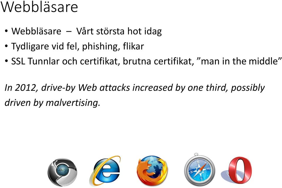 certifikat, man in the middle In 2012, drive-by Web
