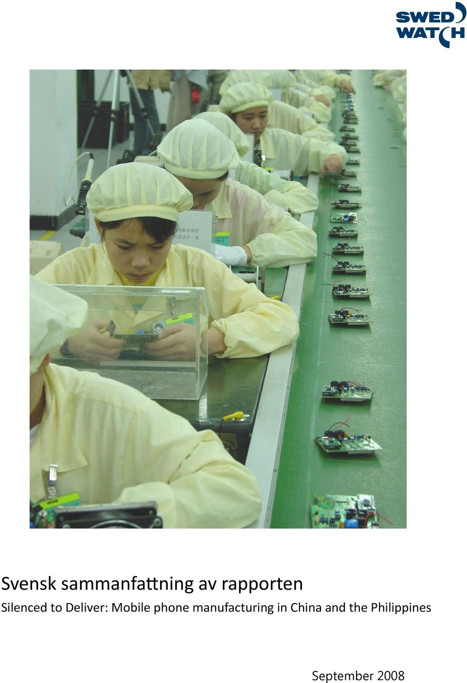 Mobile phone manufacturing in