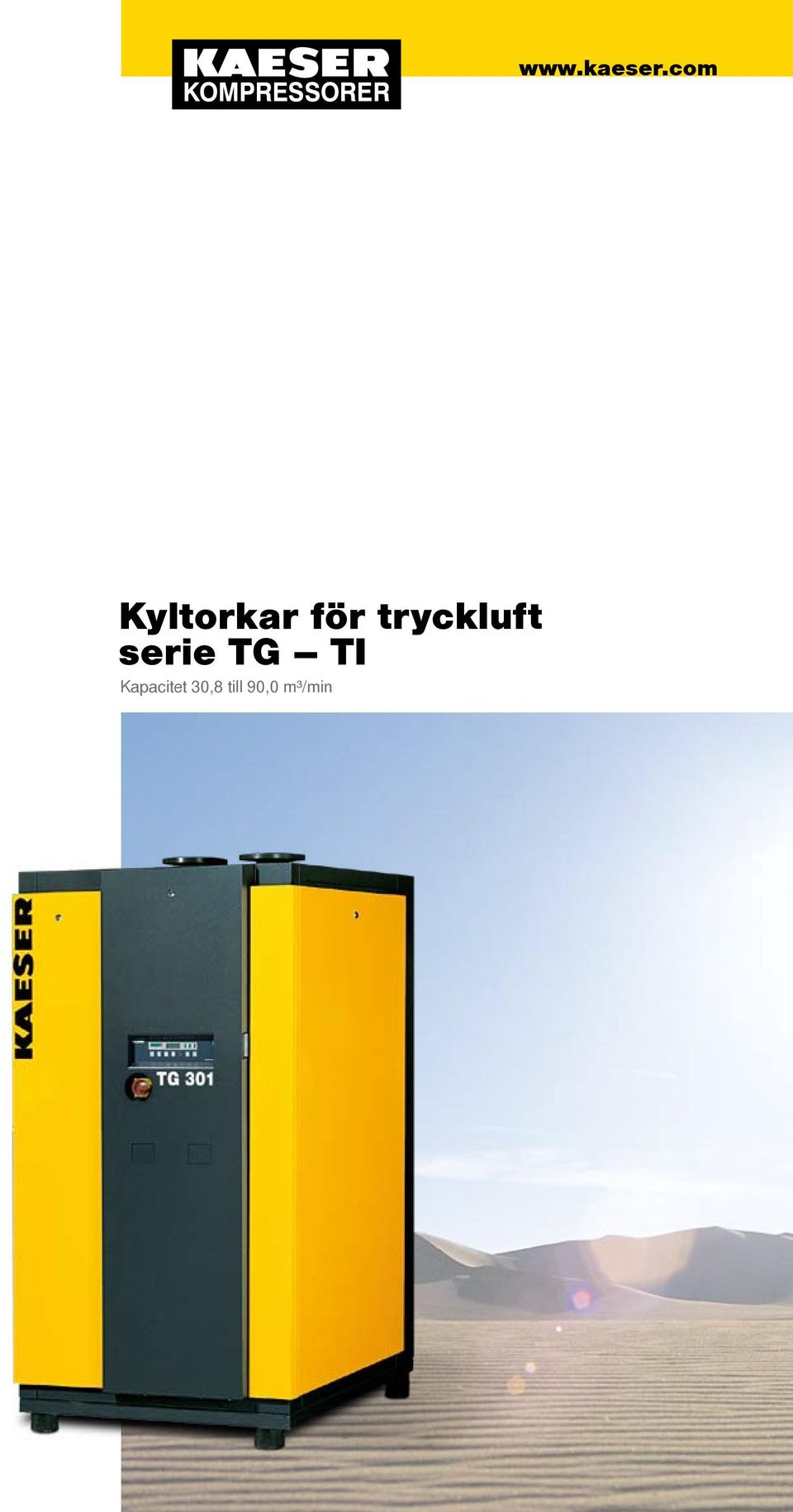 tryckluft serie TG
