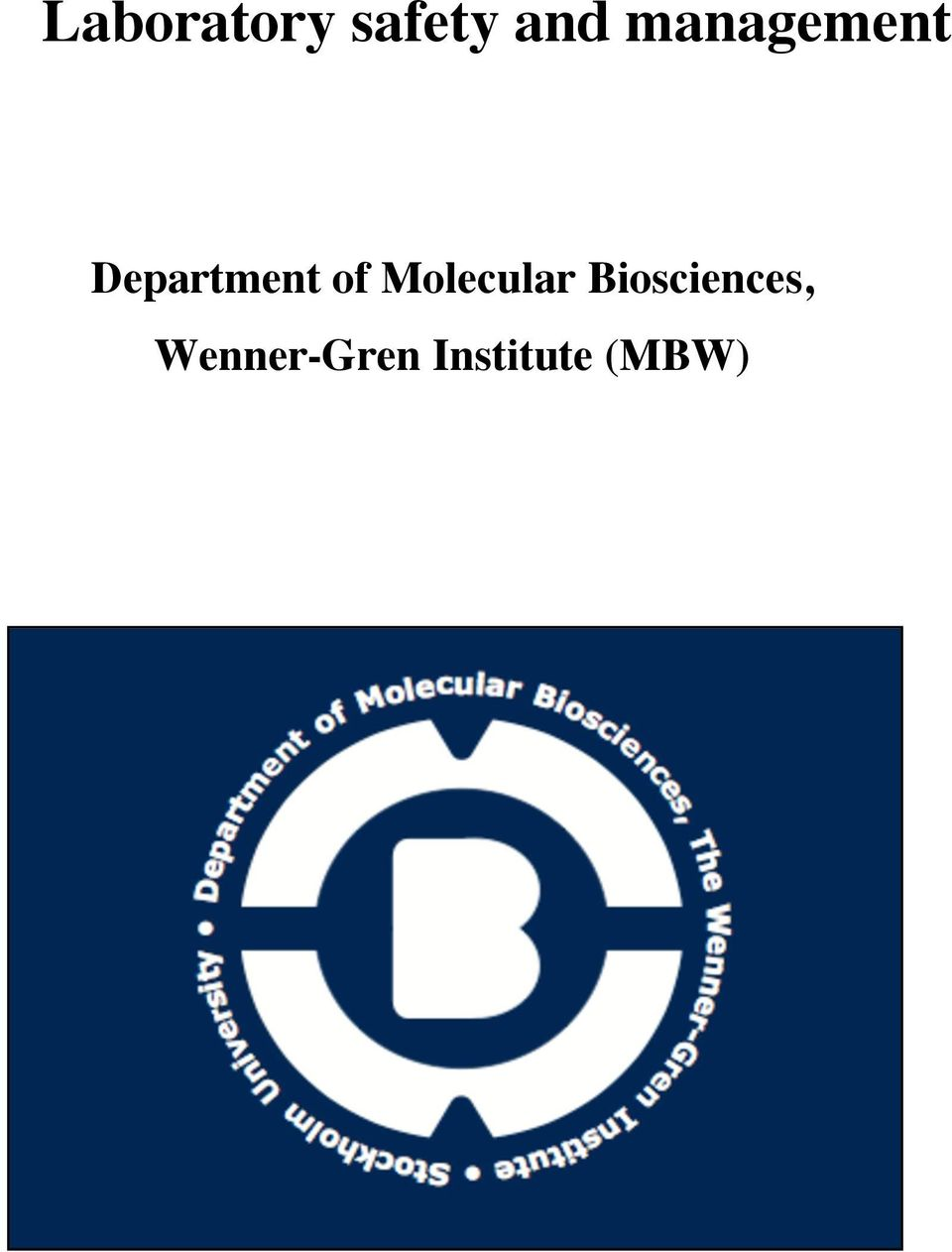 Molecular Biosciences,