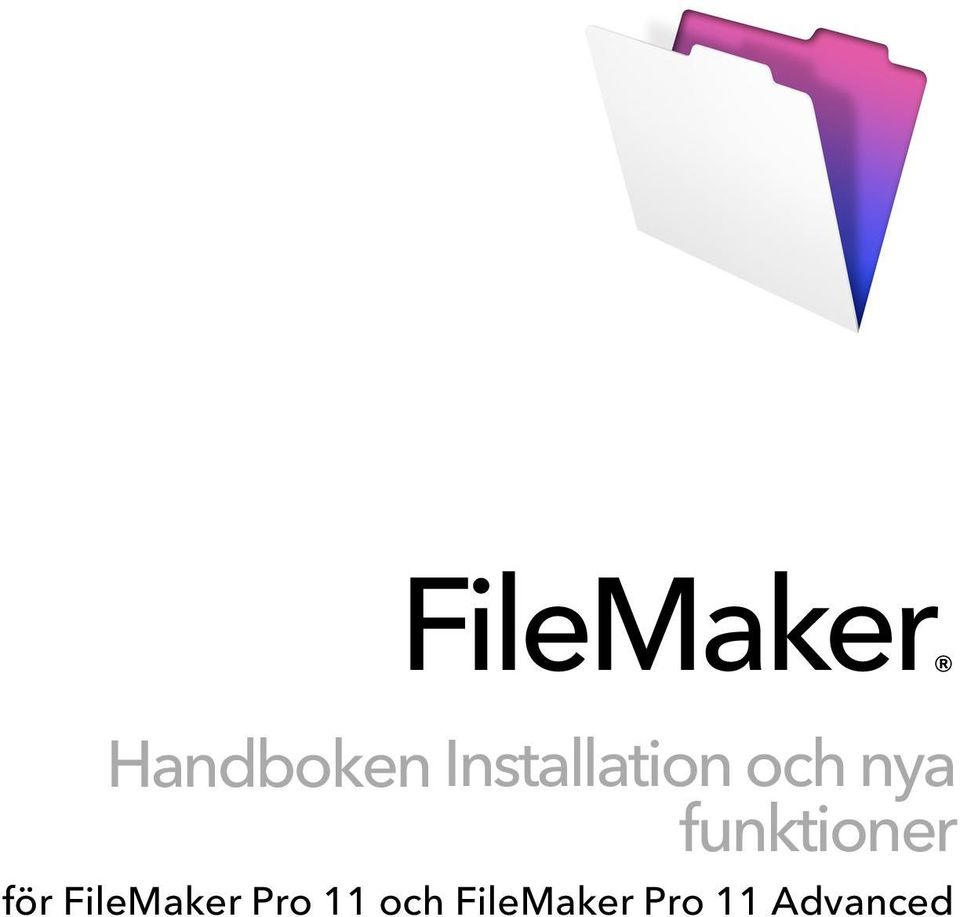 funktioner för FileMaker