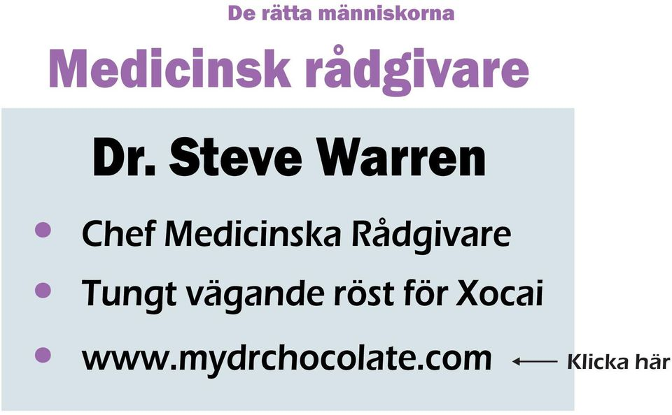 Steve Warren Chef Medicinska