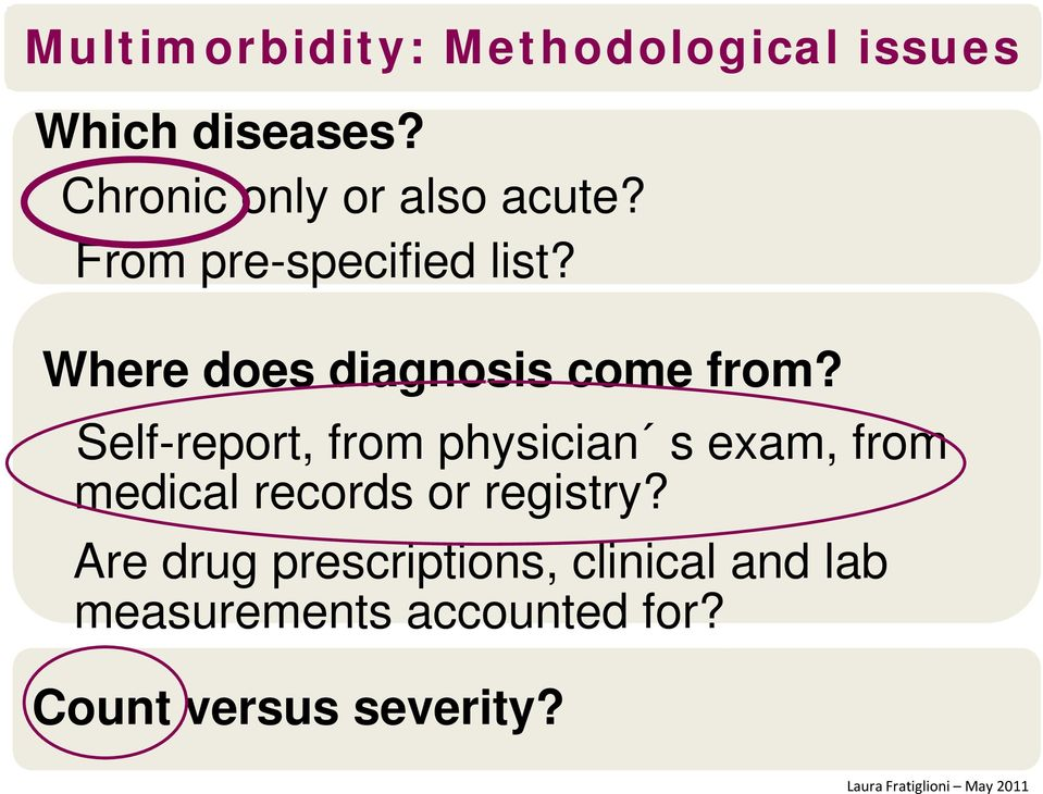 Where does diagnosis come from?