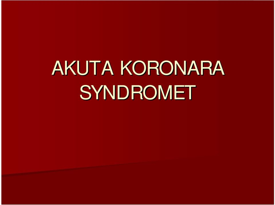 SYNDROMET