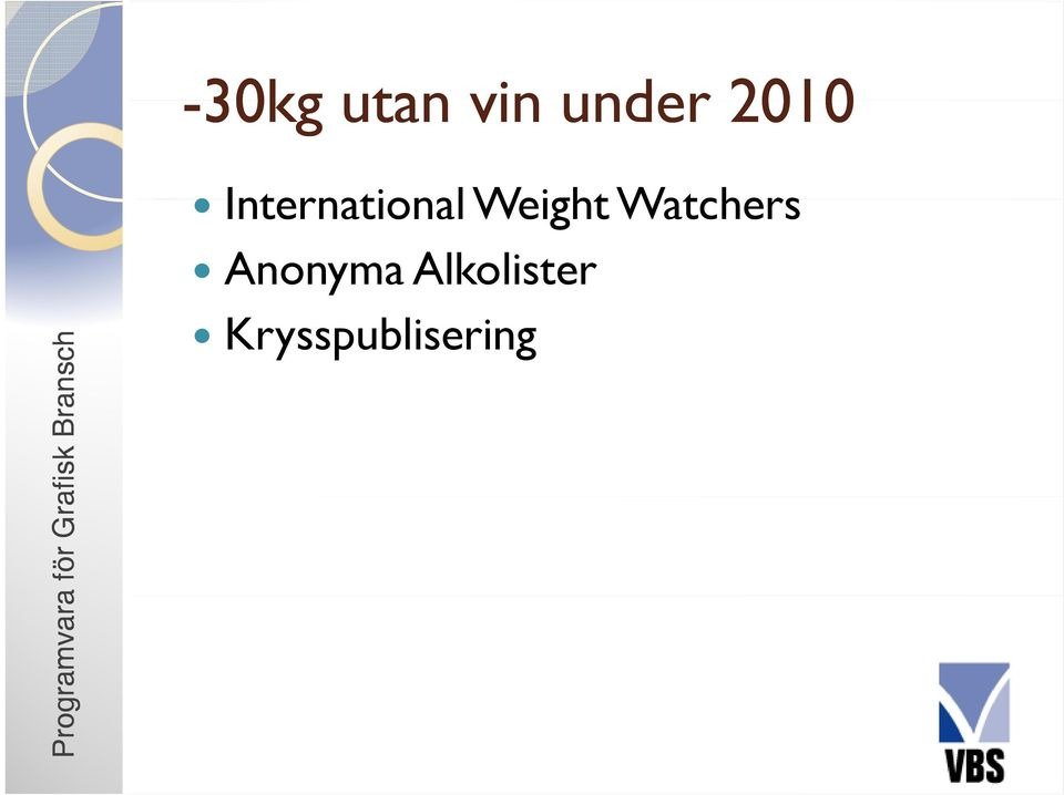 International Weight