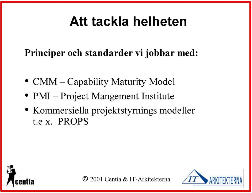 Maturity Model PMI Project Mangement