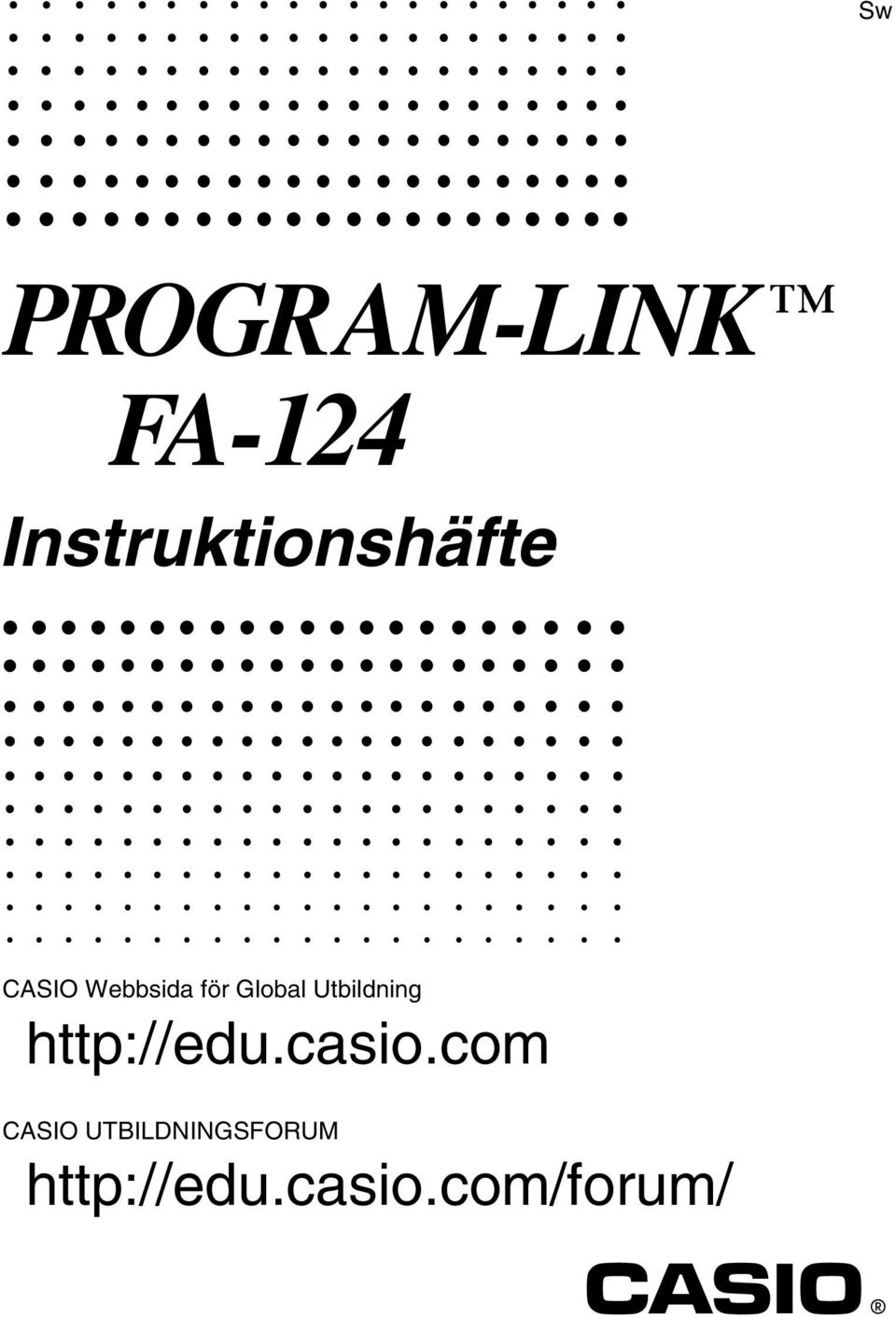 Global Utbildning http://edu.casio.