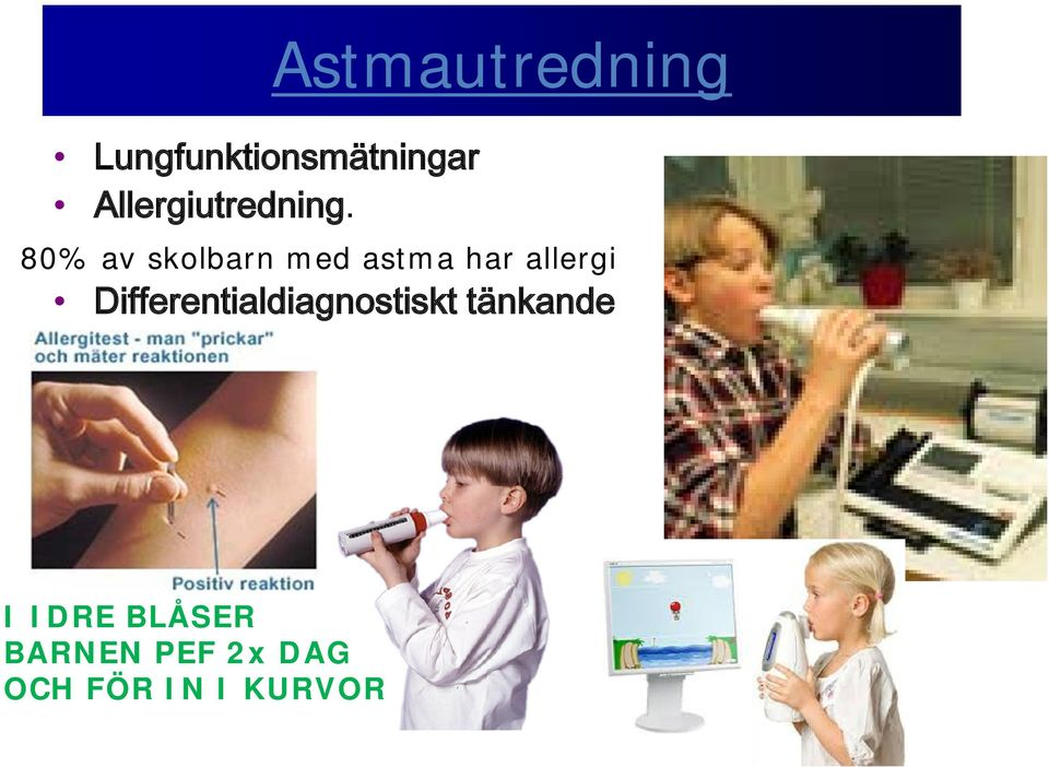 allergi Differentialdiagnostiskt tänkande I
