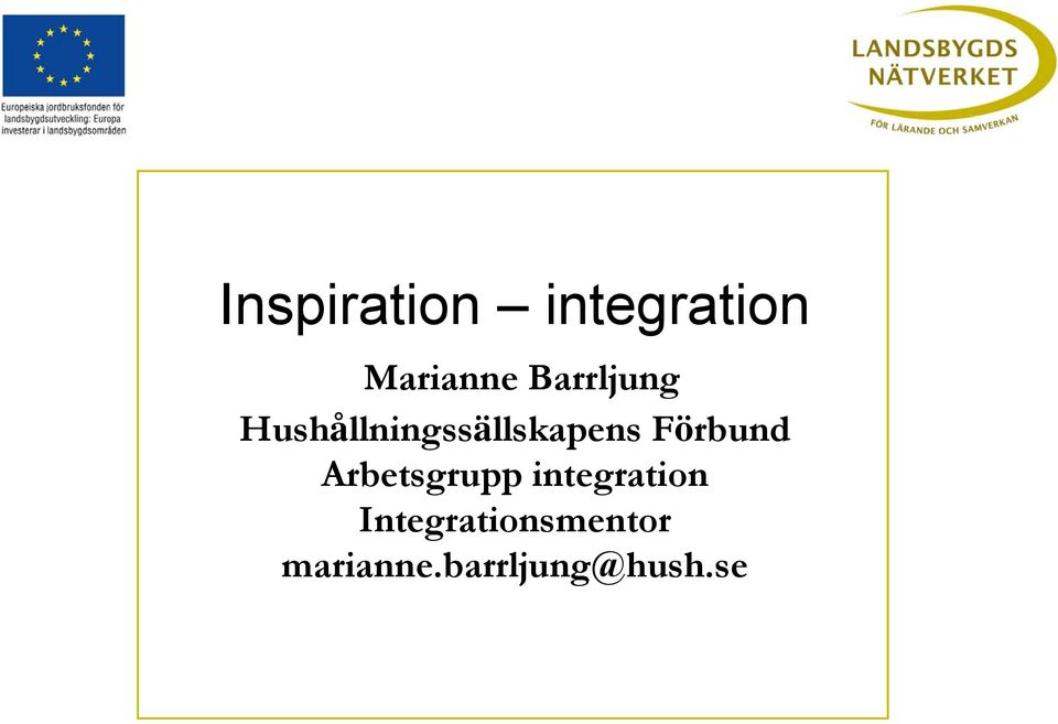 integration Integrationsmentor marianne.