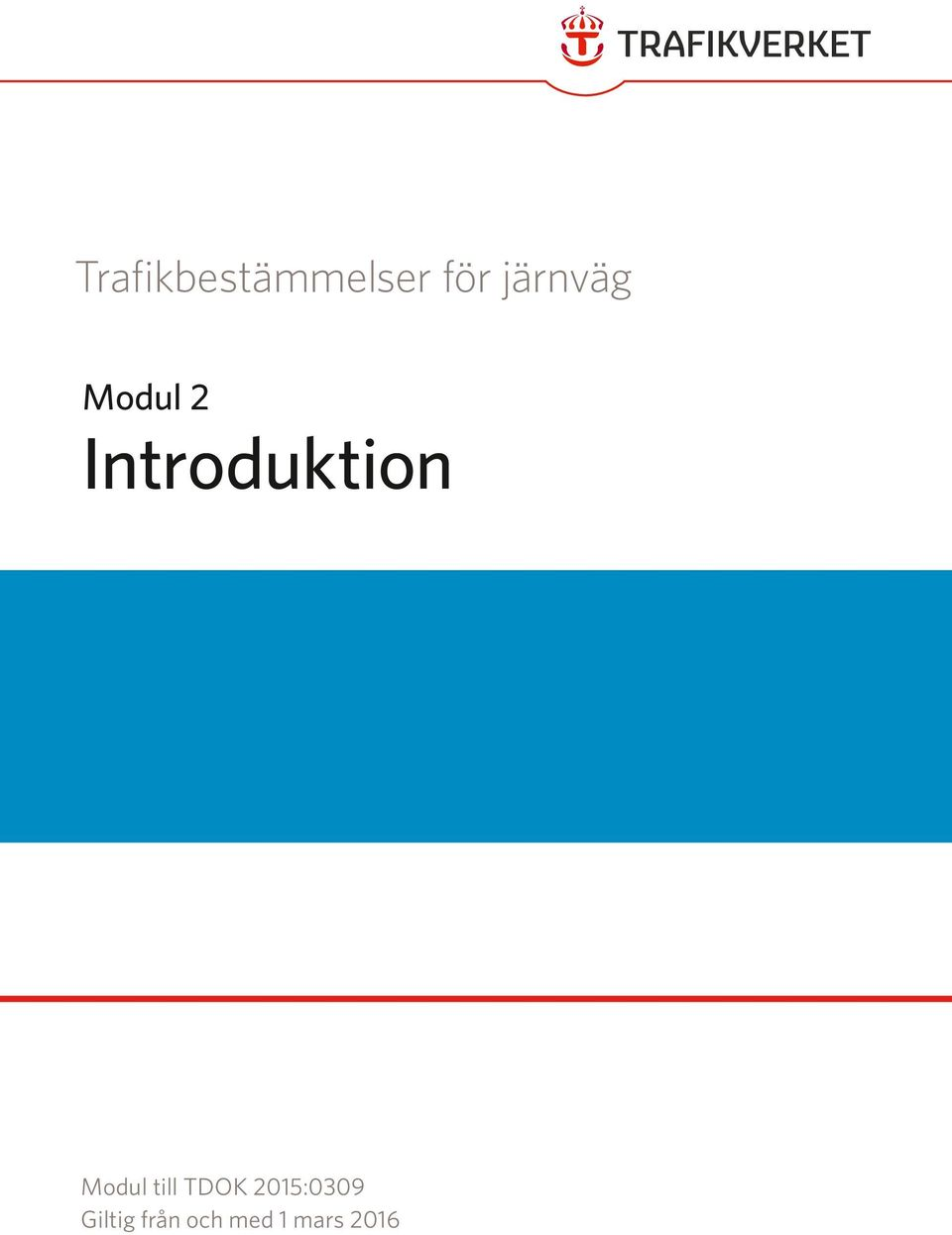 Introduktion Modul till