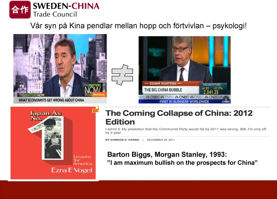 Barton Biggs, Morgan Stanley, 1993:
