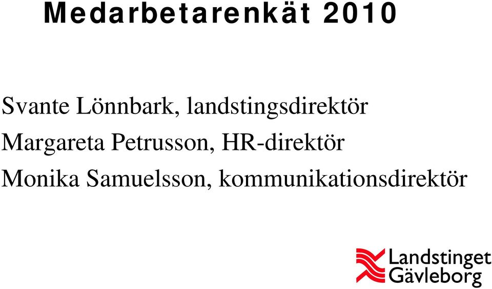 Margareta Petrusson, HR-direktör