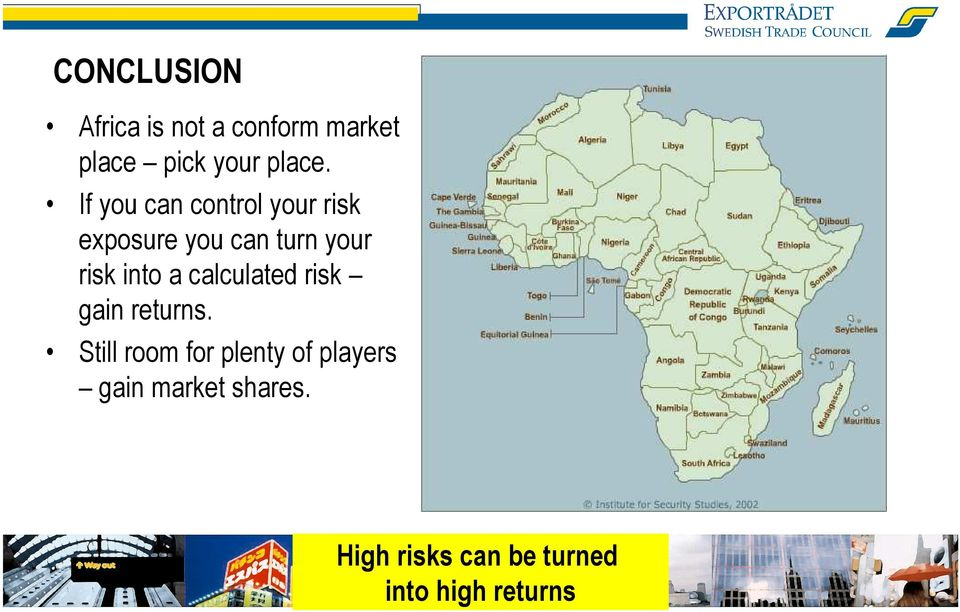 into a calculated risk gain returns.
