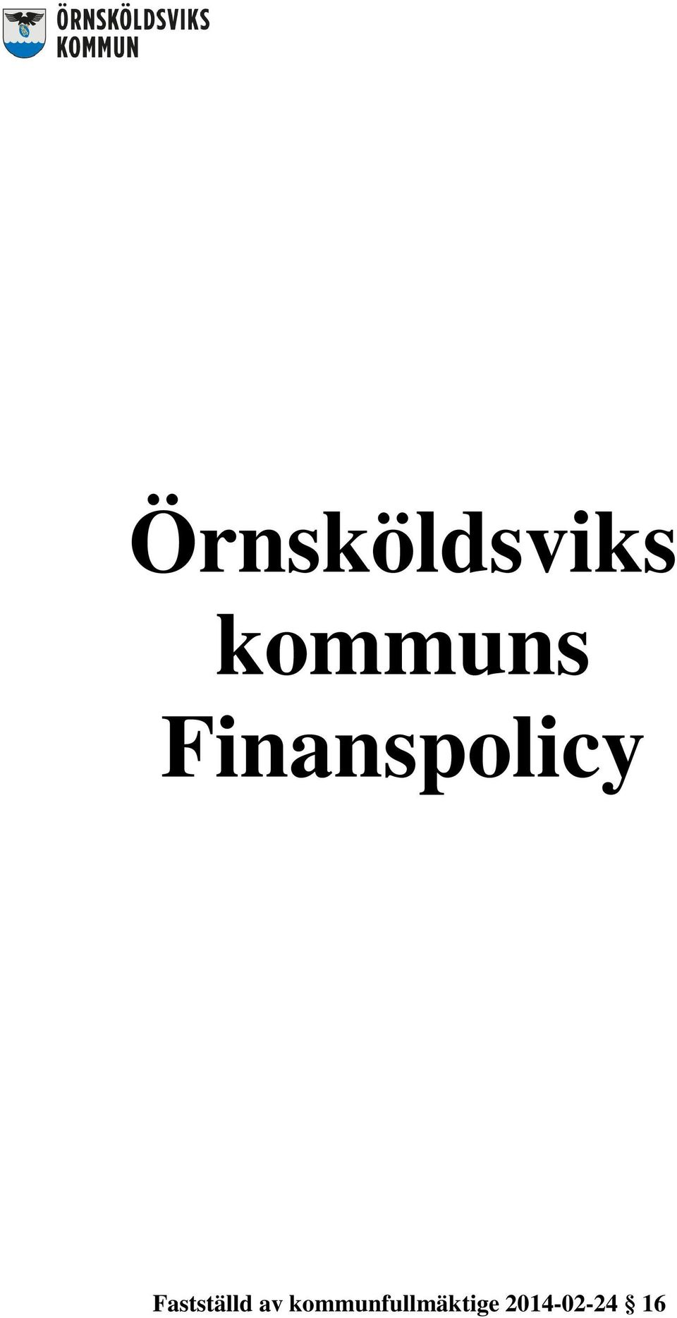 Finanspolicy