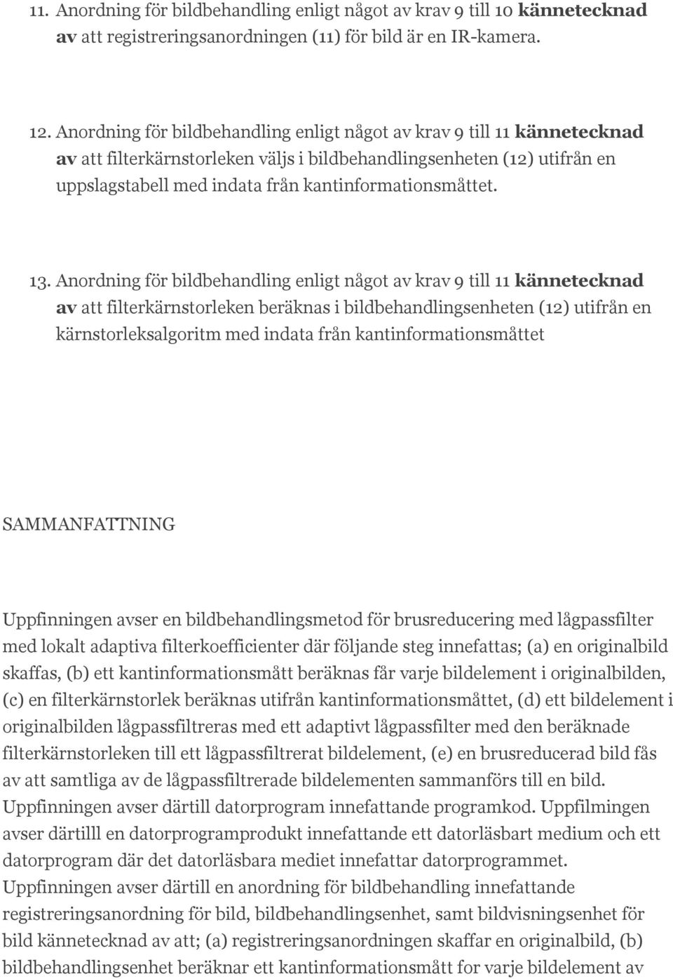 kantinformationsmåttet. 13.