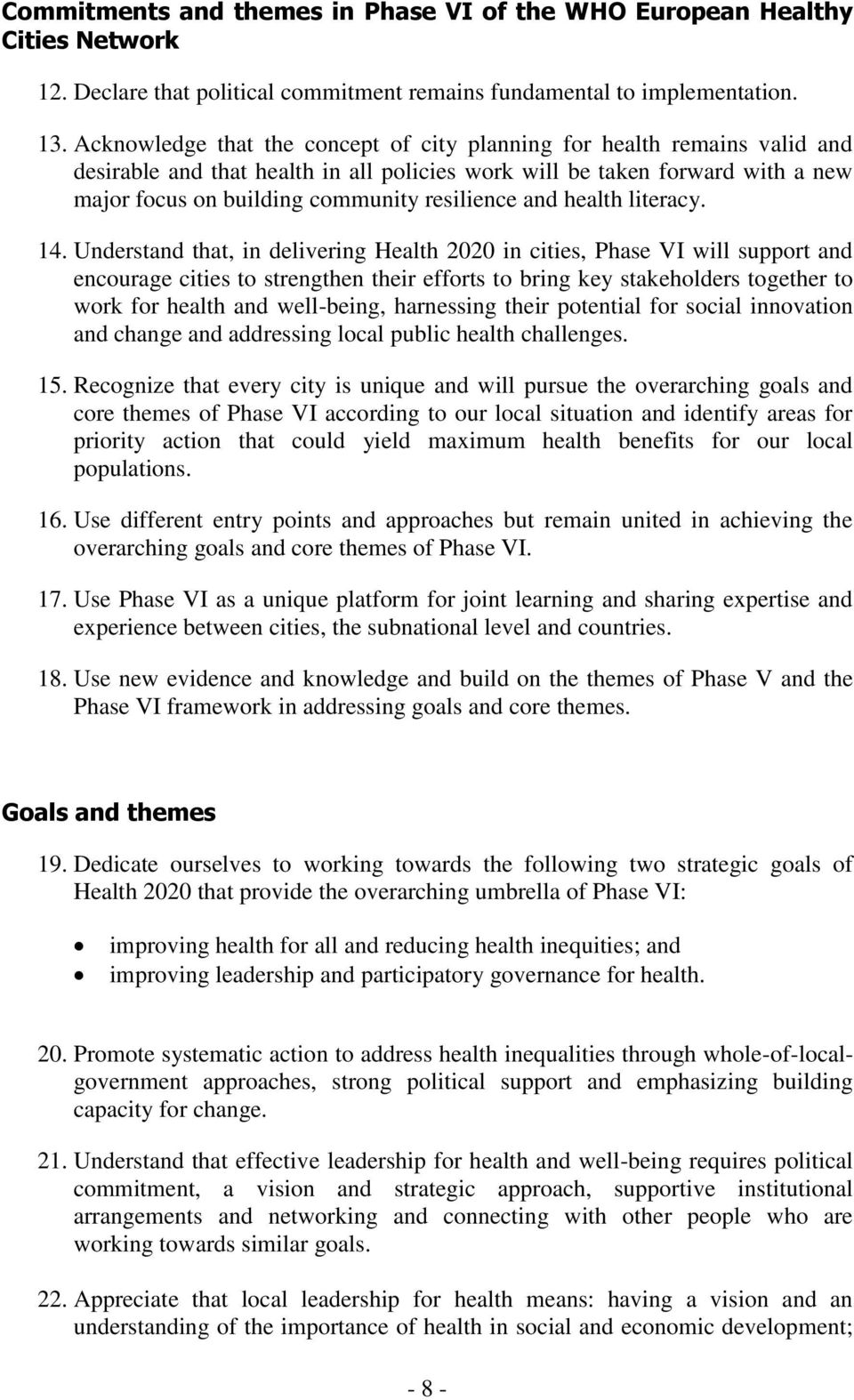 and health literacy. 14.