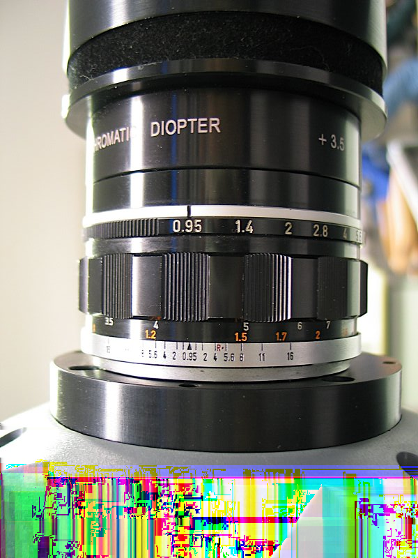 Optics Re-imaging lens Front