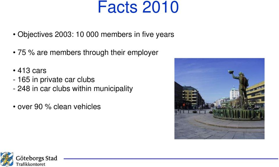 employer 413 cars - 165 in private car clubs -