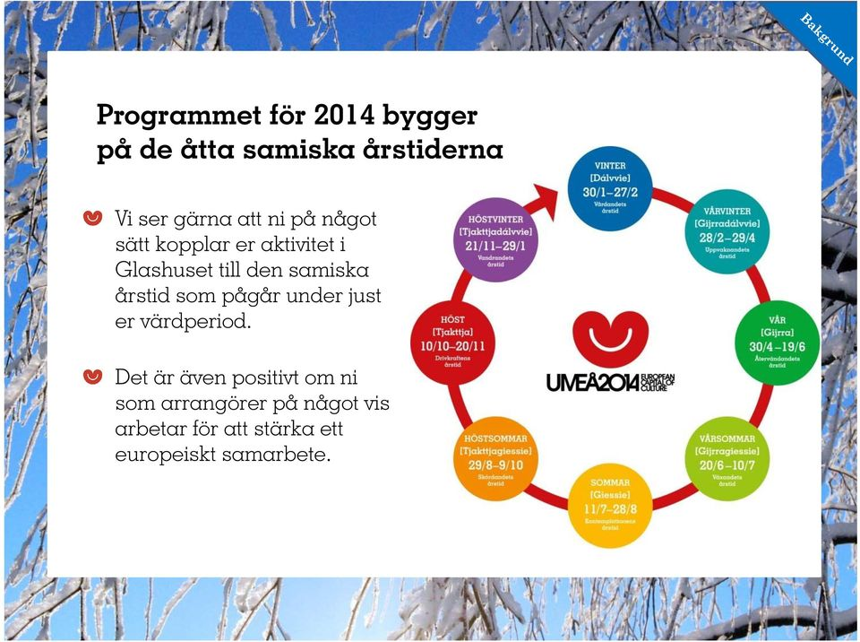 pågår 2014 under just bygger på värdperiod.