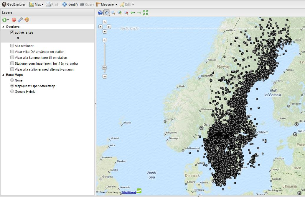 Stationsregistret i Molnet WFS OpenGeo Suite (Boundless)