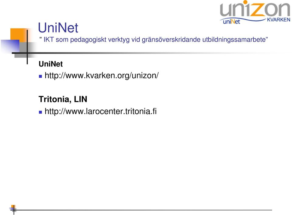 org/unizon/ Tritonia,