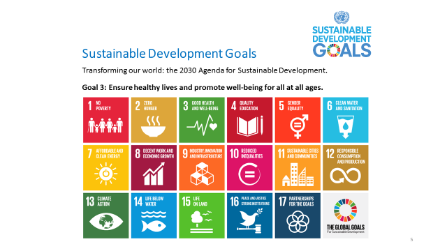Sustainable Development Goals Transforming our world: the 2030 Agenda for Sustainable