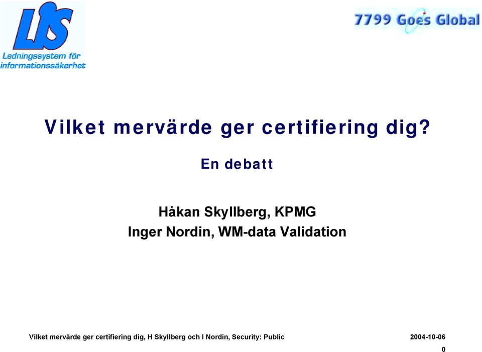 KPMG Inger Nordin, WM-data