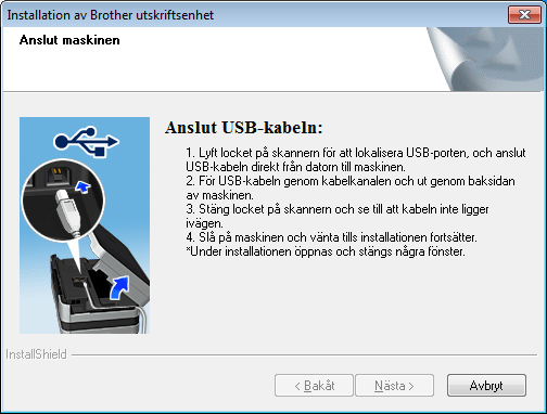 USB Windows För nvändre med USB-gränssnitt (Windows XP Home/XP Professionl/Windows Vist /Windows 7) 17 Innn du instllerr Cd-skivns huvudmeny öppns.