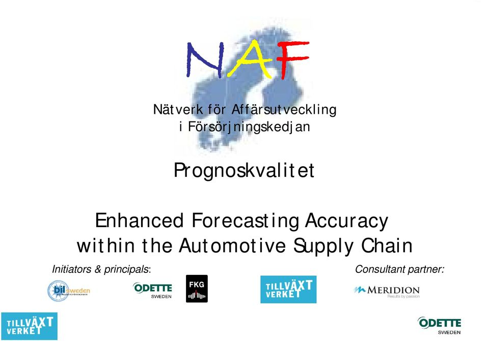 Forecasting Accuracy within the