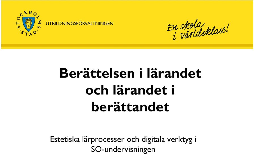 digitala verktyg i SO-undervisningen